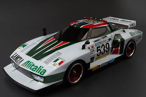 KILLERBODY LANCIA STRATOS (1977 GIRO) 190MM CLEAR BODY