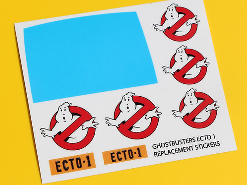 GHOSTBUSTERS ECTO 1 1/10 RC stickers decal set Ecto 1