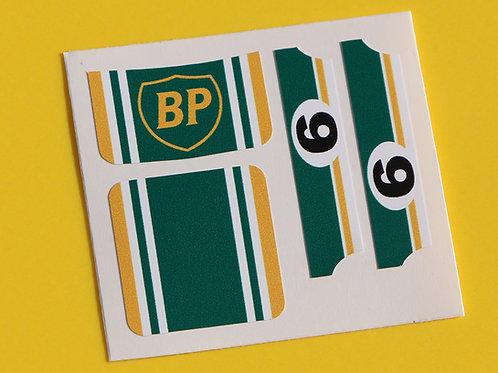 MATCHBOX SUPERFAST No.9 ESCORT RS2000 'BP' sticker decal reproductions