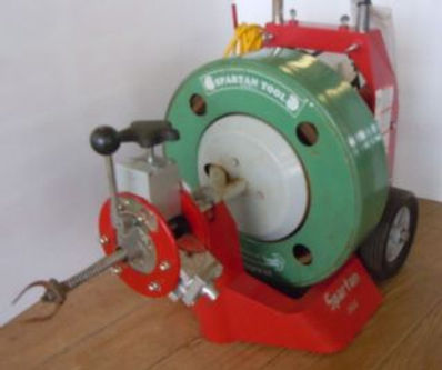picture of our sewer machine