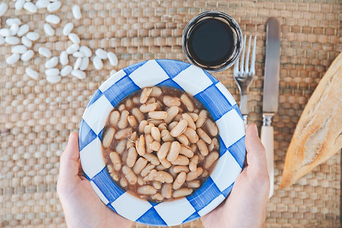 Haricots de Vendée cuisinés - 2/3 personnes (750g)