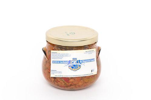 Axoa (Achoa) de magret de canard au piment d'Espelette - 4 personnes (750g)