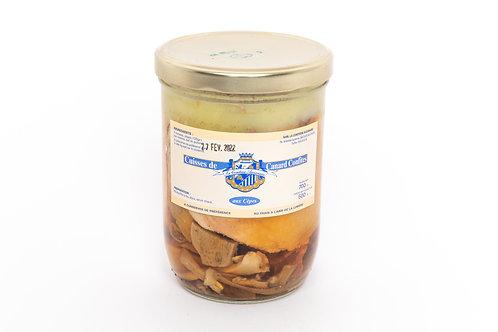 2 cuisses de canard confites aux cèpes - 2 personnes (750g)
