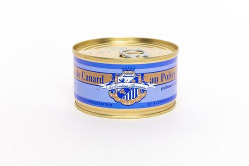 Pâté au poivre vert (parfumé à l'Armagnac) - 3/4 personnes (200g)