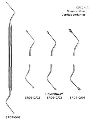 Cucchiai alveolari Hemingway