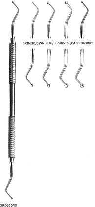 SRD630 Strumenti per amalgama