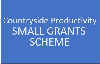 Countryside Productivity: Small Grant Scheme