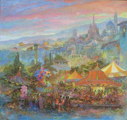 Feria en San Miguel de Allende