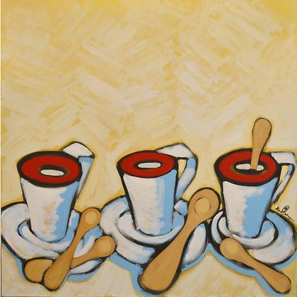 3 coffee cups