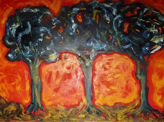 Tres árboles