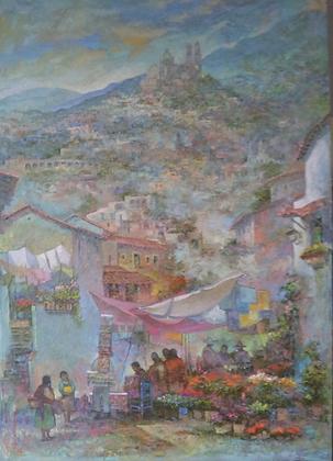 Tianguis en Taxco