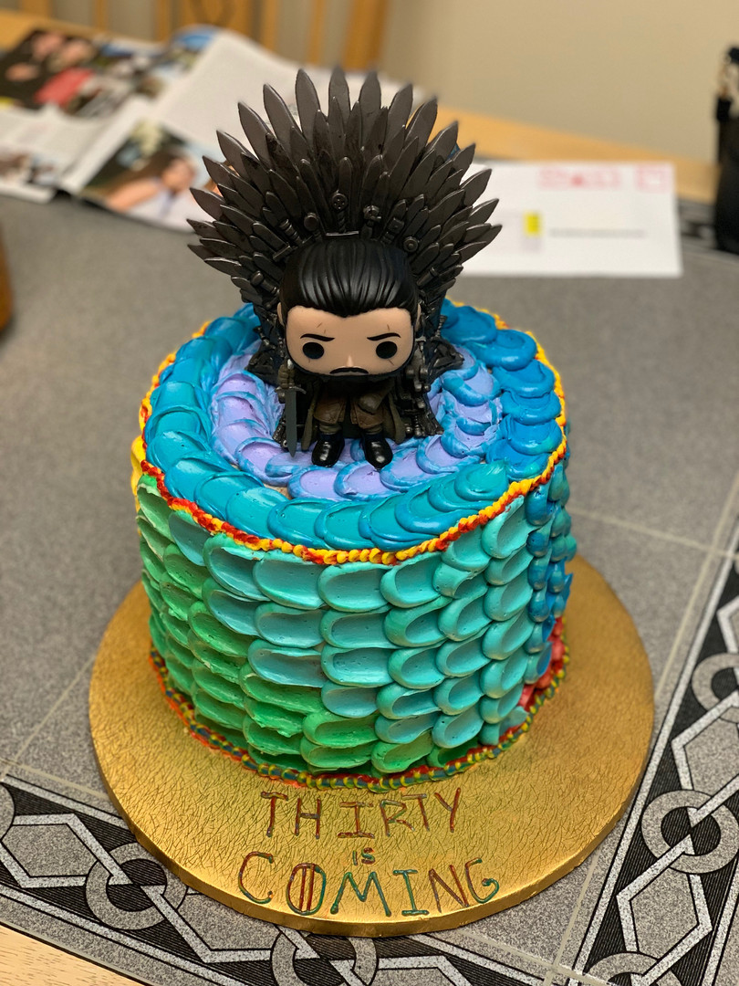 Game of Thrones Bday Cake