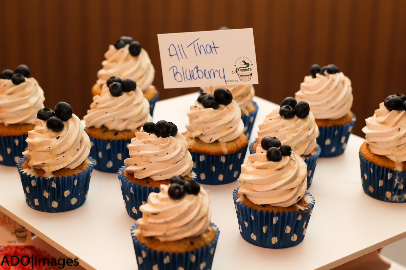 All That Blueberry Cupcakes