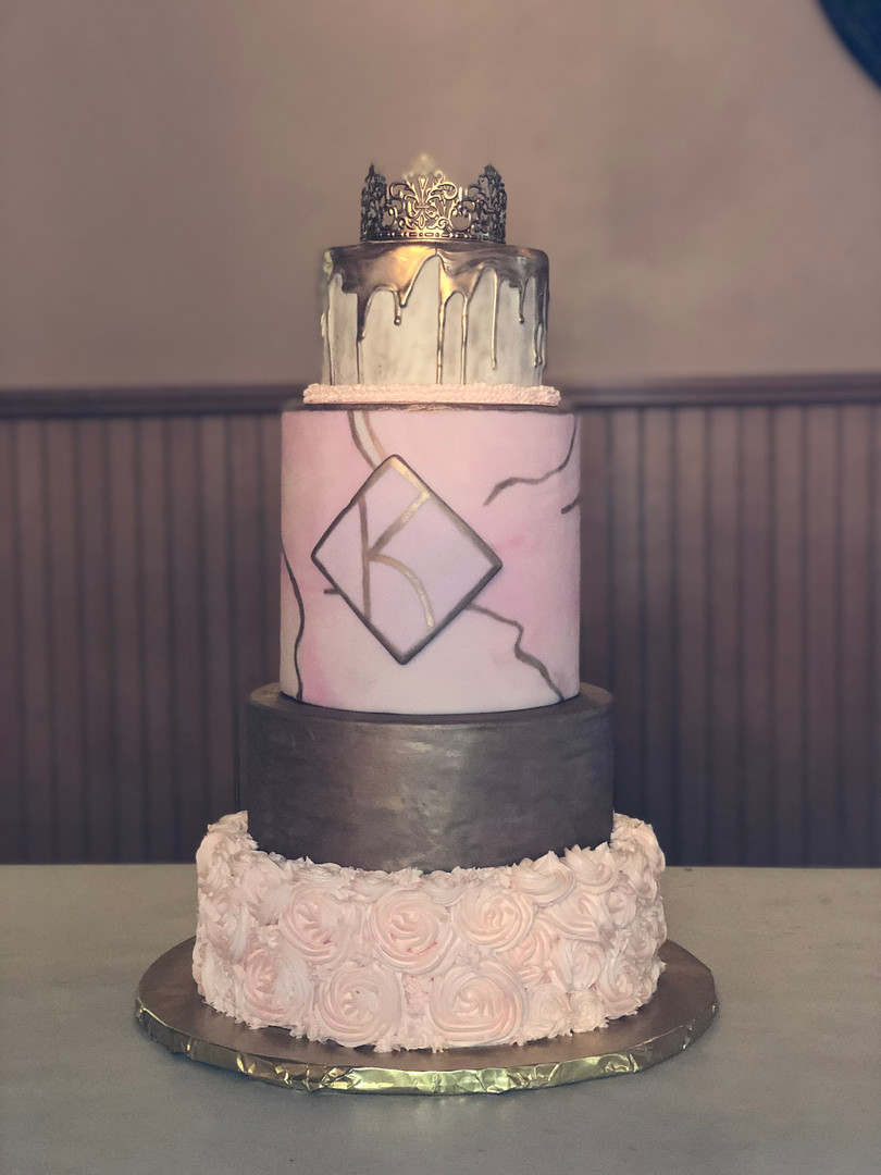 Quincenera Dummy Cake