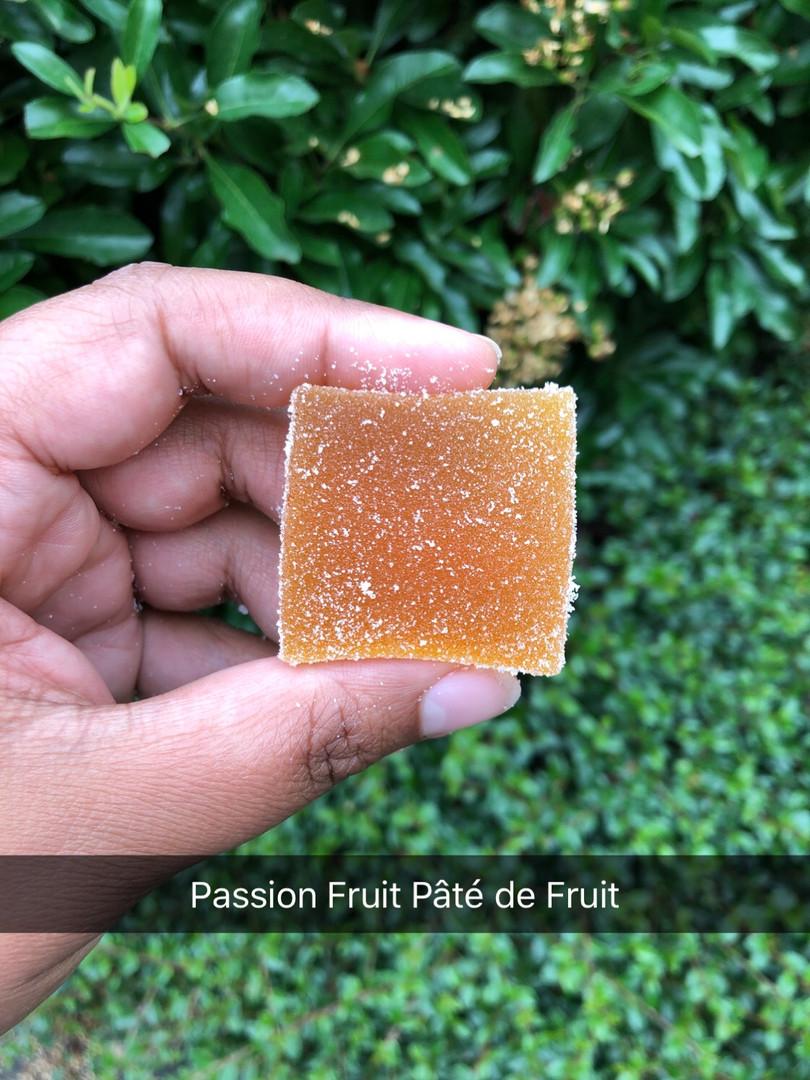 Passion Fruit Pate de Fruit