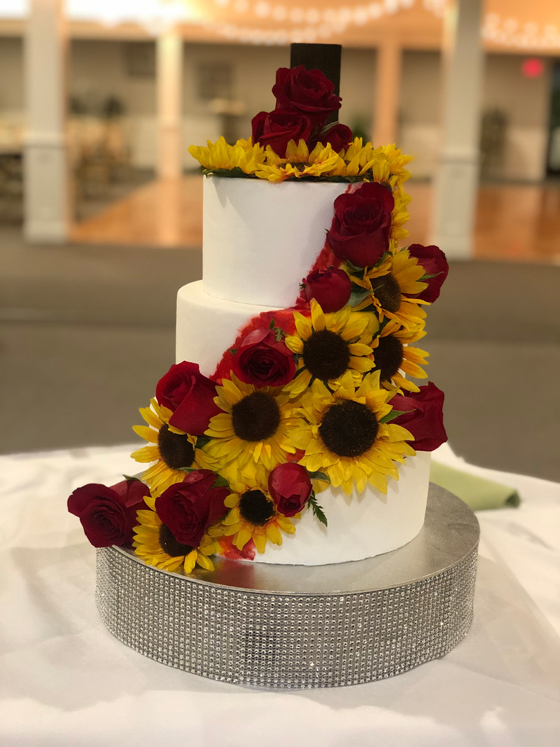 Wedding Expo Dummy Cake