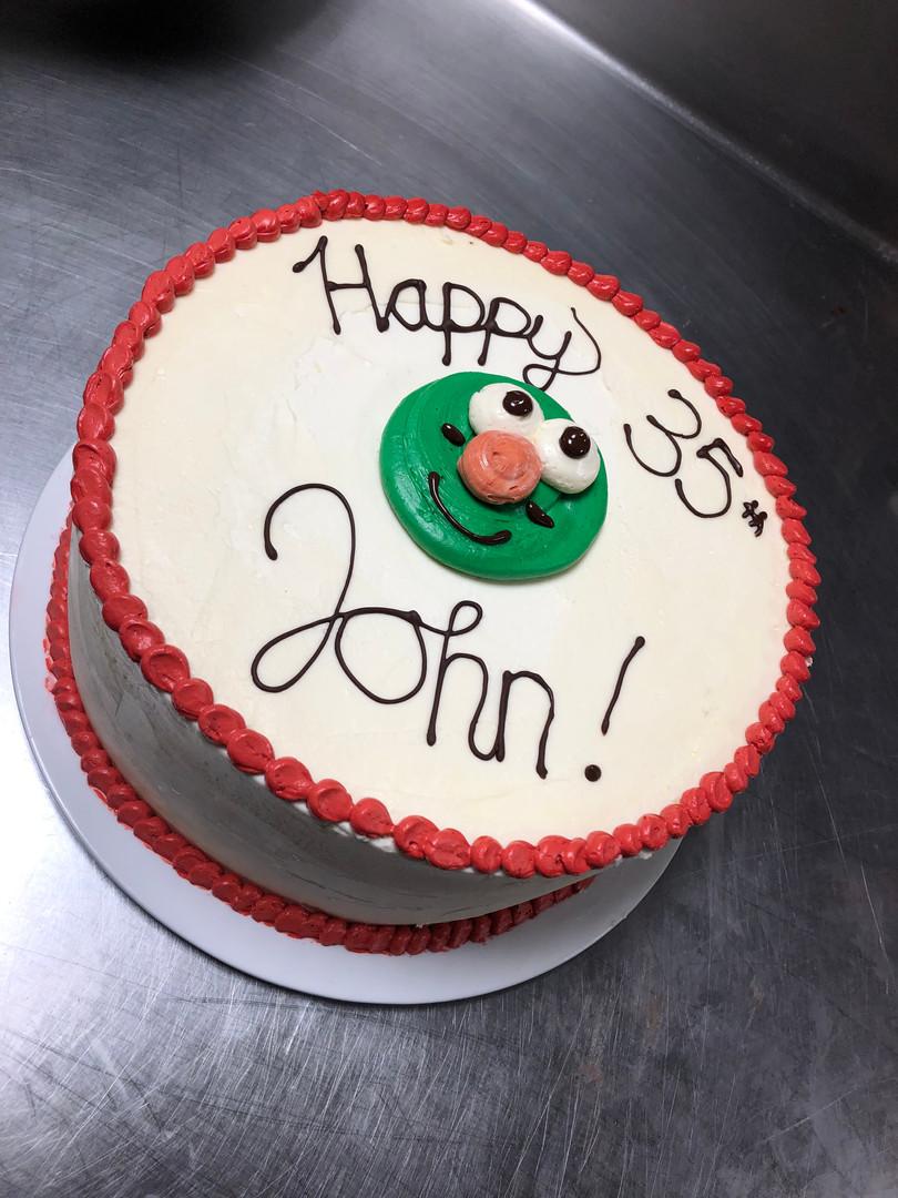 Wally BDay Cake