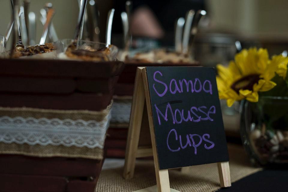 Samoa Mousse Cups