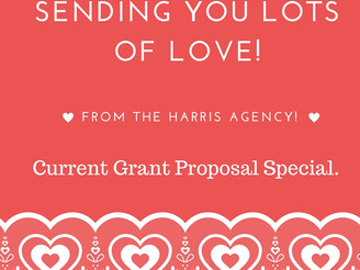 Sending You Lots of Love: Current Grant Proposal Special.