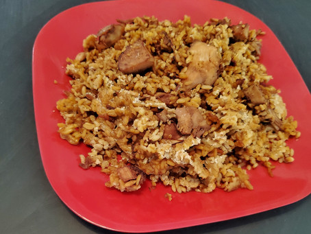 Fried Rice a la Jackfruit