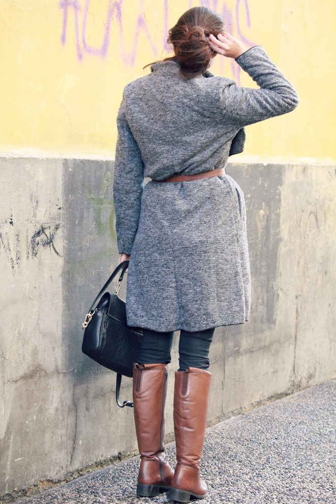 Informal winter outfit