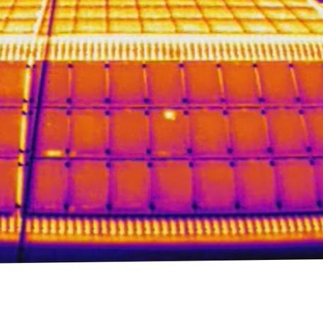 Wärmebild Photovoltaik Inspektioin