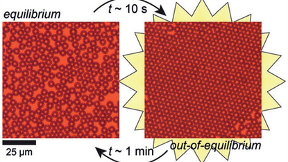 Photoswitchable Dissipative 2D Colloidal Crystals
