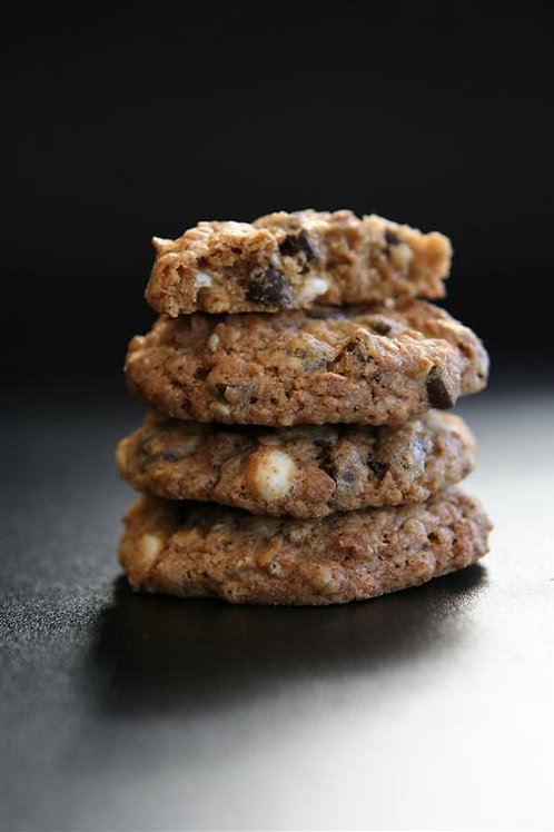 Oatmeal-Raisin-Walnut Cookies