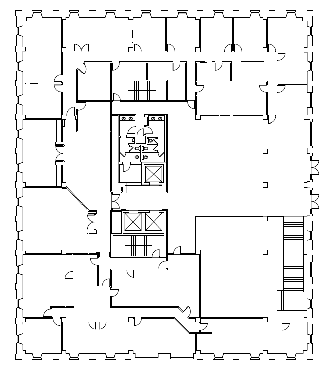 Second Floor 12,455 RSF