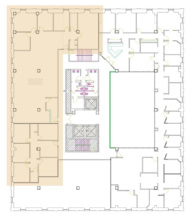 Fourth Floor 5,509 RSF