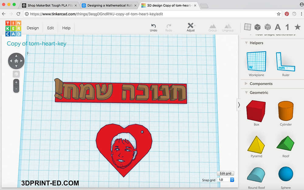 tinkercad-2d-to-3d