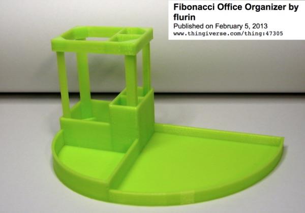 fibonacci-office-organizer