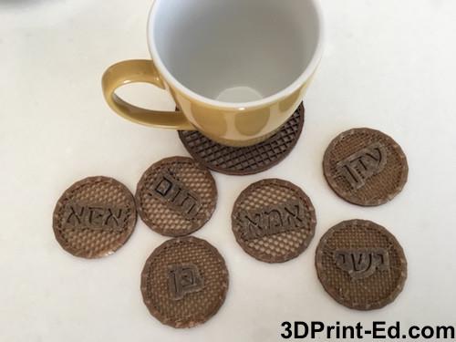 תחתיות בהדפסת תלת מימד