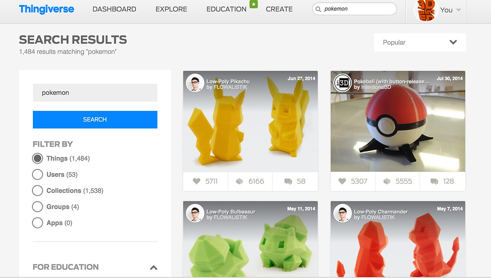 thingiverse-search