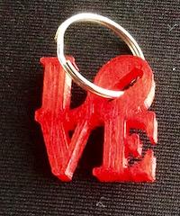 3dprinted-love-keychain
