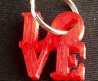 מחזיק מפתחות Love