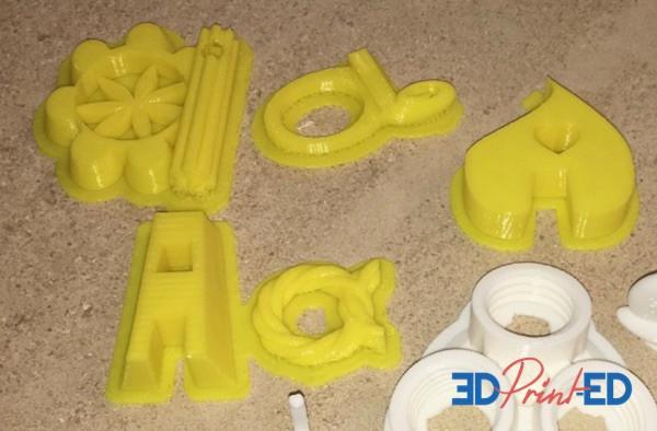 3d printed english letters שיעור אנגלית עם מדפסת תלת מימד