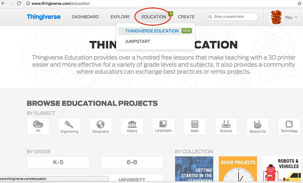 thingiverse-education