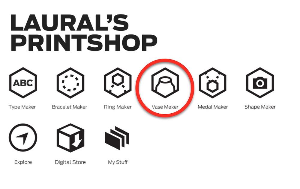 Makerbot PrintShop App