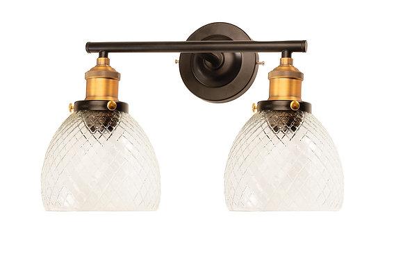 מנורת קיר - מנורת קיר כפולה