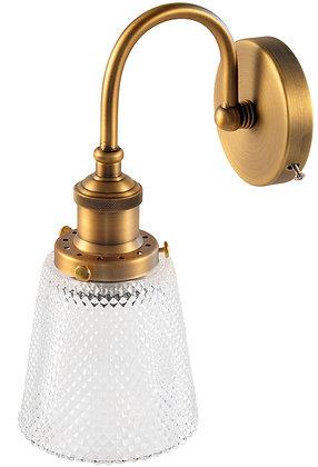 מנורת קיר במראה קלאסי