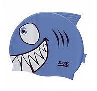 כובע שחיה לילדים -דגם כריש ZOGGS