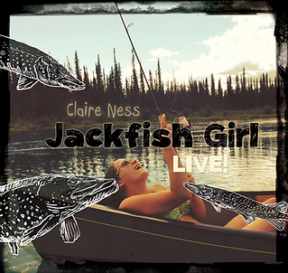 Claire Ness Jackfish Girl Album Cover Art