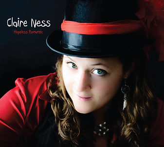 Claire Ness Hopeless Romantic Album Cover Art