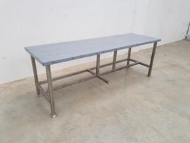 Table de nettoyage