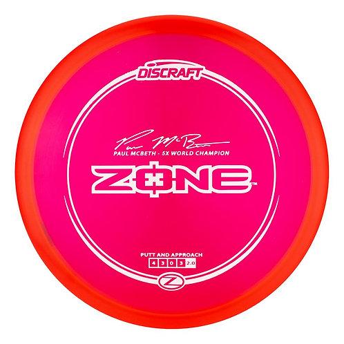 Discraft Zone Z line Paul Mcbeth 5x World Champion