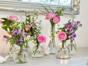 Surrey Wedding Florist Pink Flowers 1.jp
