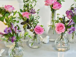 Surrey Wedding Florist Pink Flowers 2.jp