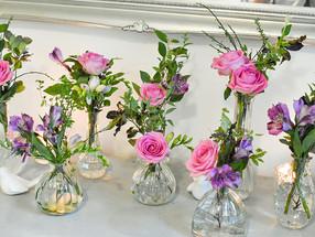 Surrey Wedding Florist Pink Flowers 3.jp