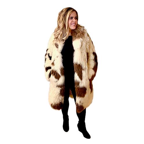 Vintage Alpaca Fur Coat